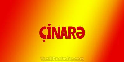 ÇİNARƏ