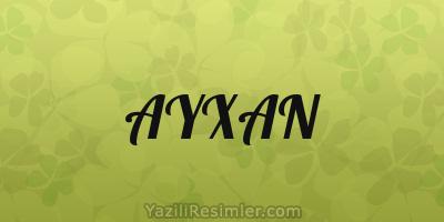 Ayxan Yazili Səkillər Yazili Resimler