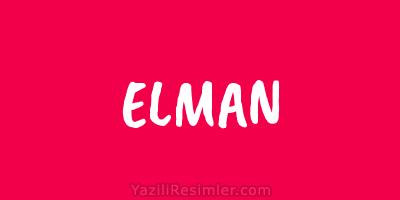 ELMAN
