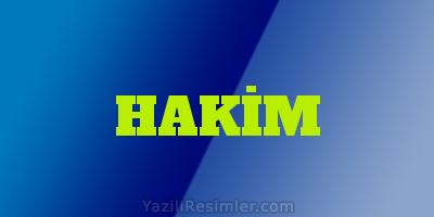 HAKİM