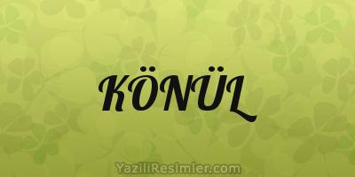 KÖNÜL