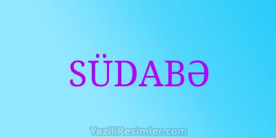 SÜDABƏ