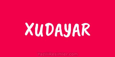 XUDAYAR