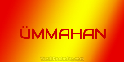 ÜMMAHAN