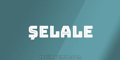 ŞELALE