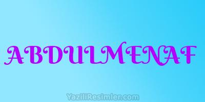 ABDULMENAF