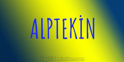 ALPTEKİN