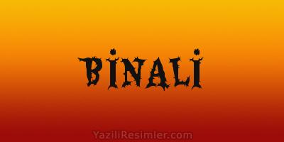 BİNALİ