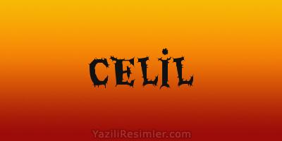 CELİL
