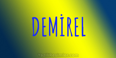 DEMİREL