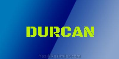 DURCAN