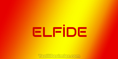 ELFİDE