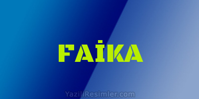 FAİKA