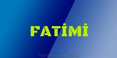 FATİMİ