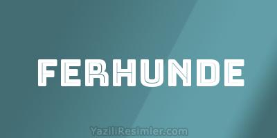 FERHUNDE