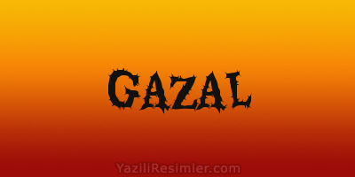 GAZAL