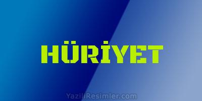 HÜRİYET