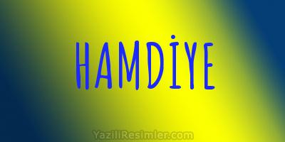 HAMDİYE