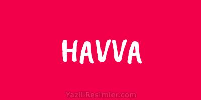 HAVVA