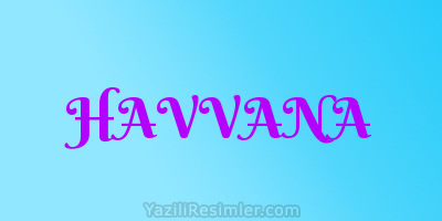 HAVVANA
