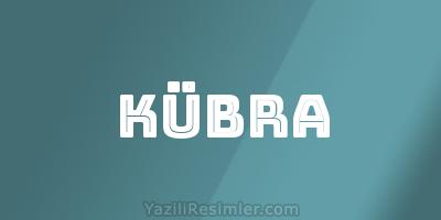 KÜBRA