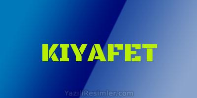 KIYAFET