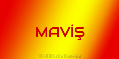 MAVİŞ
