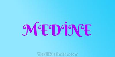 MEDİNE
