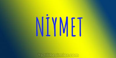 NİYMET
