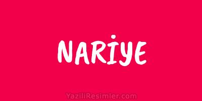 NARİYE
