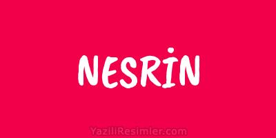 NESRİN