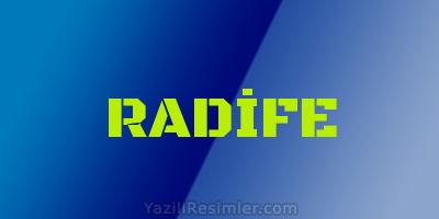 RADİFE