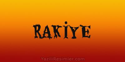 RAKİYE