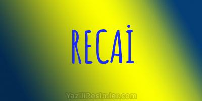 RECAİ