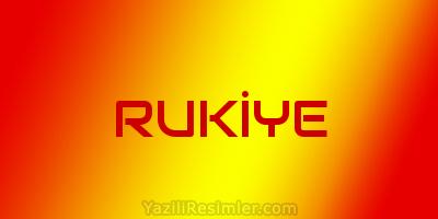 RUKİYE