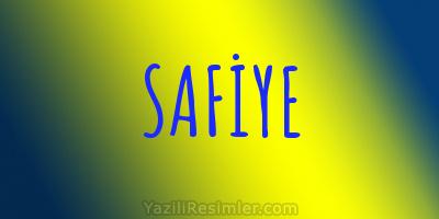 SAFİYE