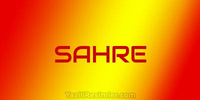 SAHRE