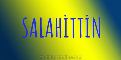 SALAHİTTİN
