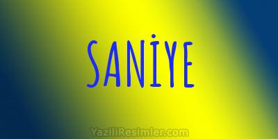 SANİYE