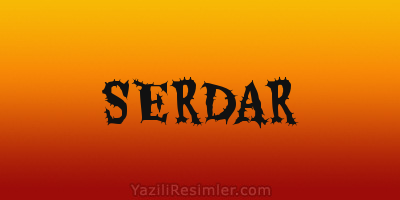 SERDAR