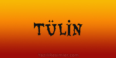 TÜLİN