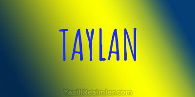 TAYLAN