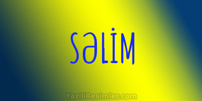 SƏLİM