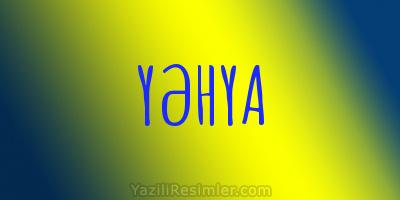 YƏHYA