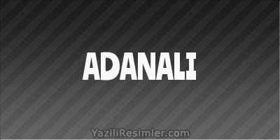 ADANALI