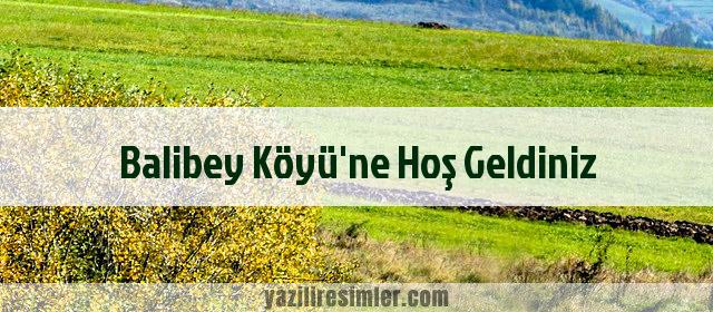 Balibey Köyü'ne Hoş Geldiniz