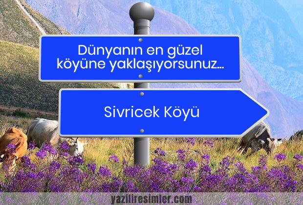 Sivricek Köyü