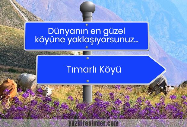 Tımarlı Köyü